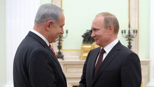 Vladimir Putin a Benjamin Netanjahu. Ilustrační foto - Sputnik Česká republika