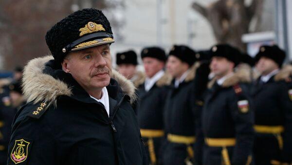 Velitel Černomořské flotily Aleksandr Vitko - Sputnik Česká republika