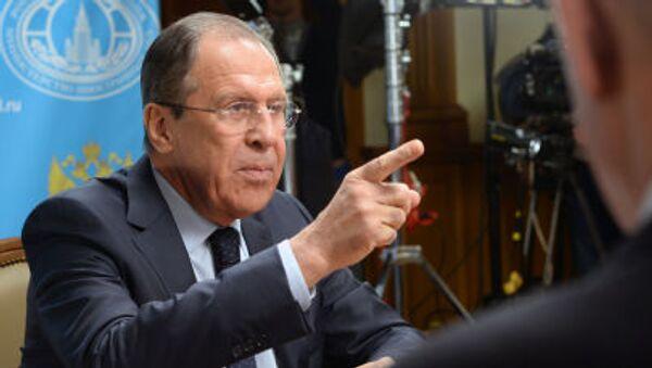 Interview s ministrem Lavrovem - Sputnik Česká republika