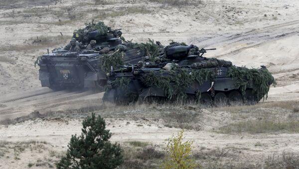 Německo-lotyšské cvičení Operation Hazel. Ilustrační foto - Sputnik Česká republika