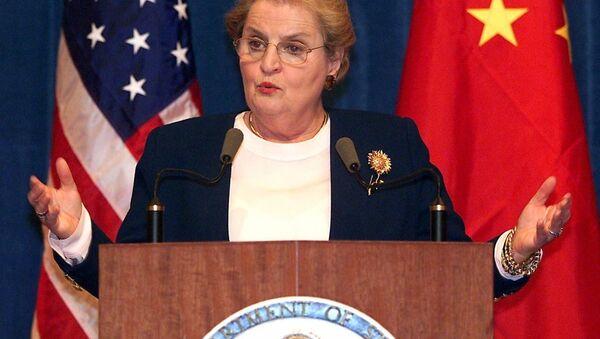 Bývalá ministryně zahraničí USA Madeleine Albrightová - Sputnik Česká republika