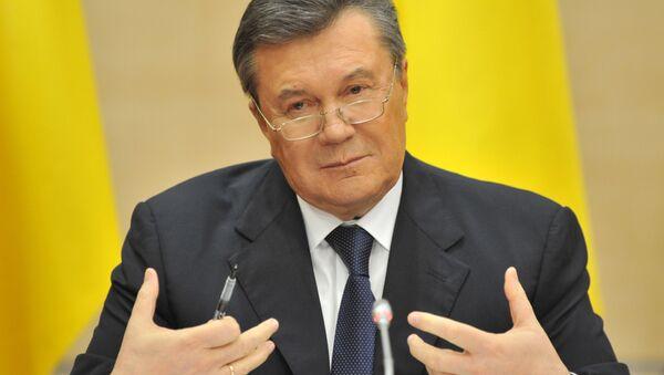 Bývalý prezident Ukrajiny Viktor Janukovyč - Sputnik Česká republika