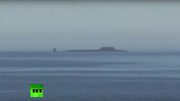 Atomová ponorka Severodvinsk zasáhla cvičný cíl křižující raketou Kalibr - Sputnik Česká republika