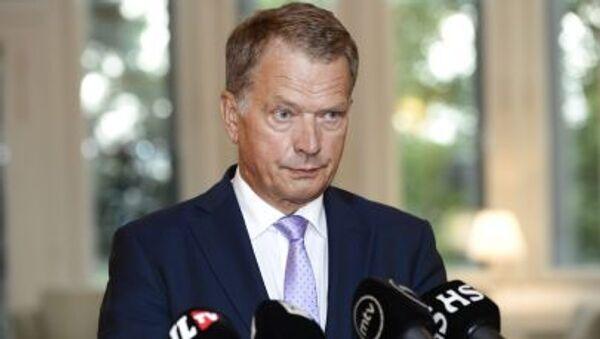 Suomen presidentti Sauli Niinistö - Sputnik Česká republika