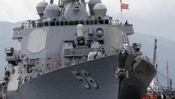 Americký torpédoborec John McCain - Sputnik Česká republika
