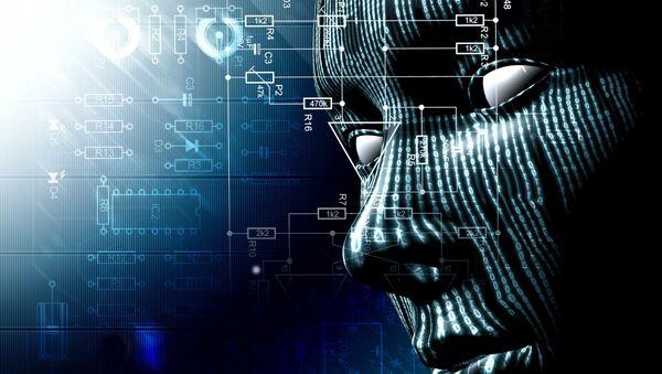 Robot s umělou inteligencí. Ilustrační foto - Sputnik Česká republika