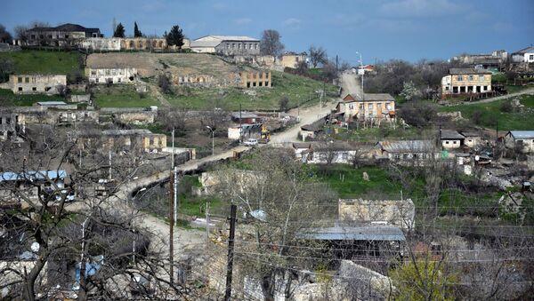 Pohraniční vesnice Tališ, Náhorní Karabach - Sputnik Česká republika