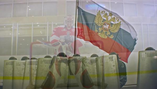 Národní garda publikovala video na podporu ruského hokejového týmu - Sputnik Česká republika
