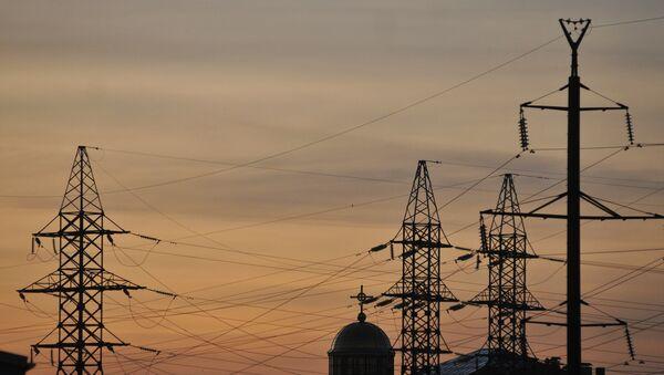 Elektrické vedení ve Lvovské oblasti - Sputnik Česká republika