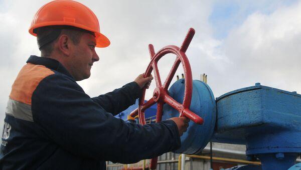 Skladiště plynu na Ukrajině - Sputnik Česká republika