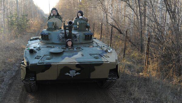 Mobilní protiletadlový komplex na bázi bojového vozu výsadkářů BMD-4M - Sputnik Česká republika