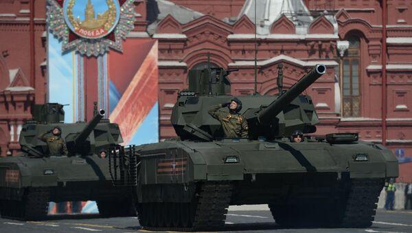 Tank Т-14 Armata - Sputnik Česká republika