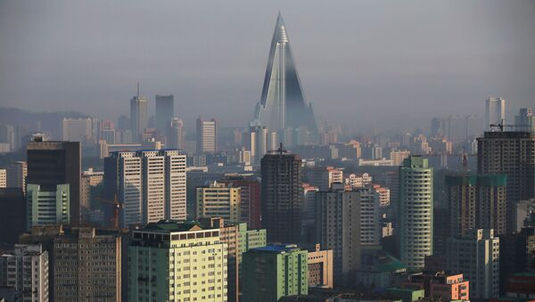 Pchjongjang, KLDR - Sputnik Česká republika