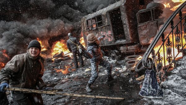 Situace v Kyjevě - Sputnik Česká republika