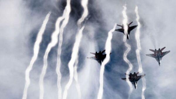 Příprava vzdušné části přehlídky Vítězství - Sputnik Česká republika