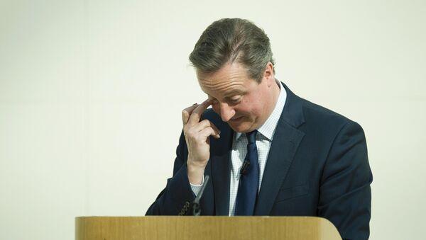 Britský ministerstký předseda David Cameron - Sputnik Česká republika