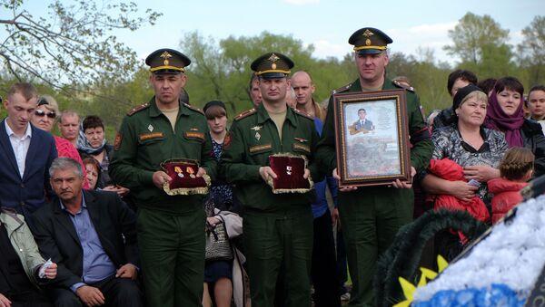 Pohřeb Alexandra Prochorenka - Sputnik Česká republika