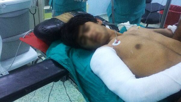 Bojovníci IS v turecké nemocnici - Sputnik Česká republika