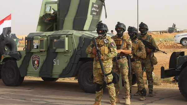 Iráčtí vojáci v Rutbě - Sputnik Česká republika