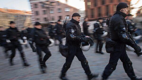 Rižská policie - Sputnik Česká republika