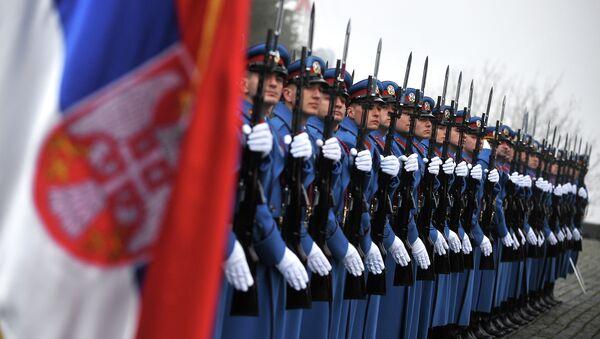 Srbští vojáci - Sputnik Česká republika