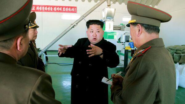 Vůdce Severní Koreje Kim Čong-un - Sputnik Česká republika