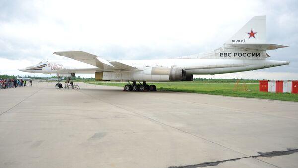 Dálkový strategický bombardér Tu-160 - Sputnik Česká republika