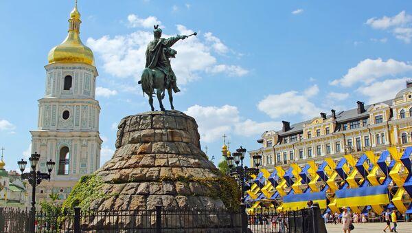 Sofijské náměstí, Kyjev - Sputnik Česká republika