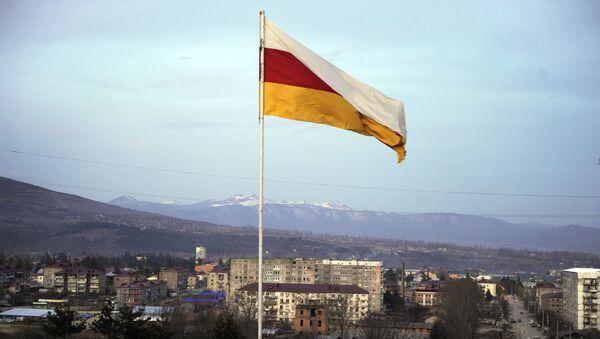 Pohled na hlavní město Jižní Osetie - Sputnik Česká republika