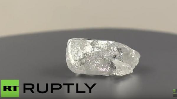 V Jakutsku byl nalezen unikátní diamant o rozměru tenisového míče - Sputnik Česká republika
