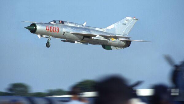 MiG-21. Ilustrační foto - Sputnik Česká republika