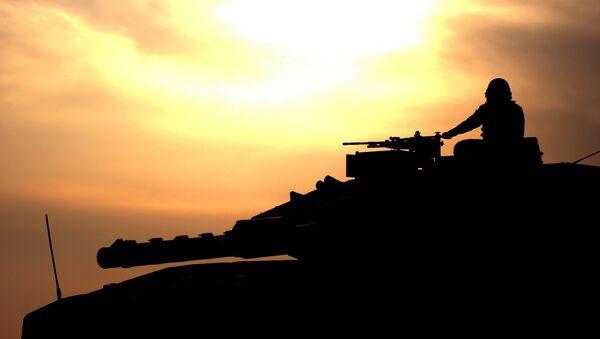 Izraelský tank - Sputnik Česká republika