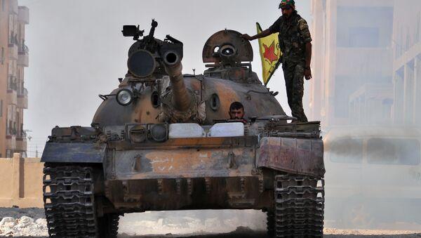 Příslušníci YPG - Sputnik Česká republika