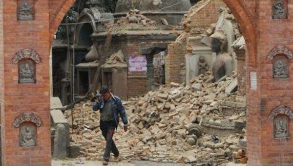 Nepál po zemětřesení - Sputnik Česká republika