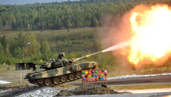 Ruský tank Т-90С - Sputnik Česká republika