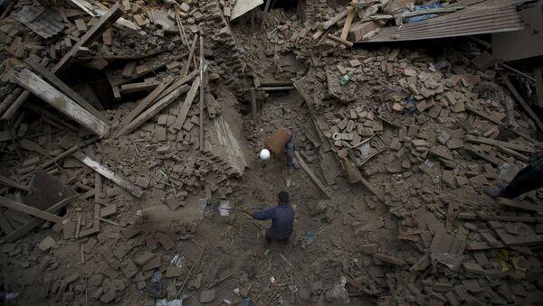 Zemětřesení v Nepálu - Sputnik Česká republika