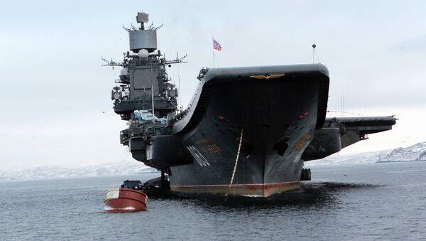 Letadlová loď Admiral Kuznetsov - Sputnik Česká republika