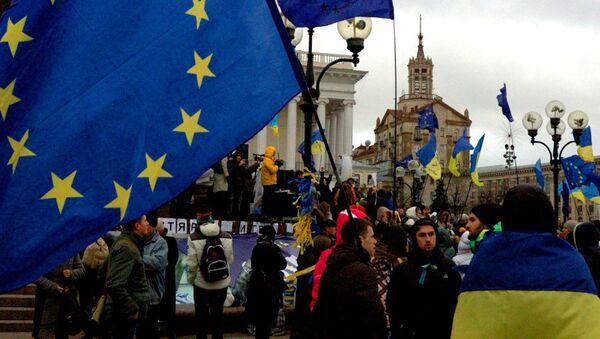 Ukrajina-EU - Sputnik Česká republika