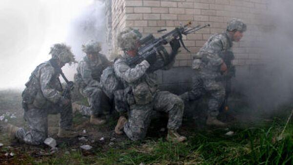 Cvičeni americké armády v Litvě - Sputnik Česká republika