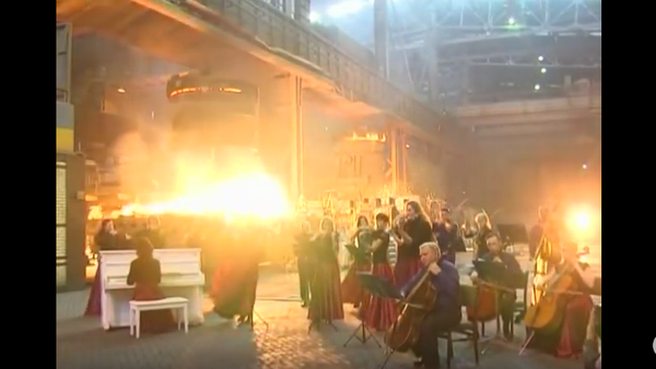 Na metalurgickém závodě zahráli hudbu z Her o trůny - Sputnik Česká republika