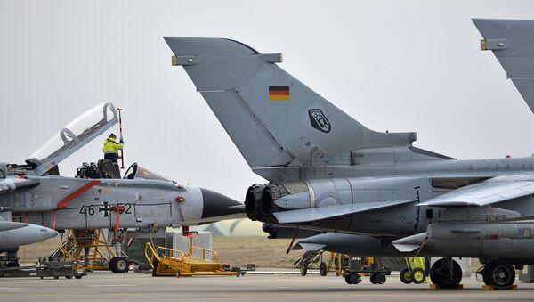 Německá letadla na základně Incirlik v Turecku - Sputnik Česká republika