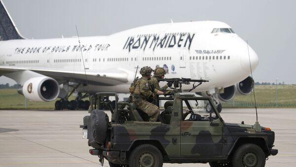 Letadlo rockové skupiny Iron Maiden - Sputnik Česká republika