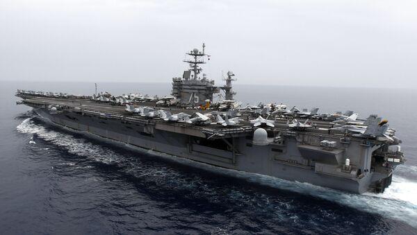 Letadlová loď USS Harry S. Truman - Sputnik Česká republika