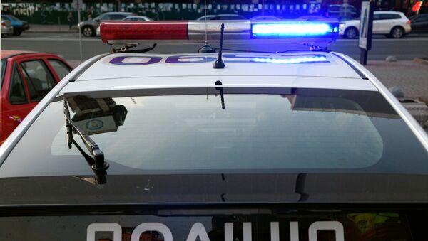Policejní auto v Kyjevě - Sputnik Česká republika