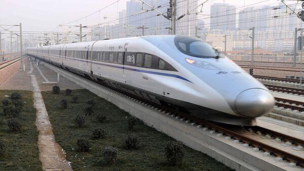Čínský vysokorychlostní vlak - Sputnik Česká republika