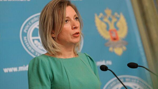Oficiální mluvčí MZV RF Marie Zacharovová - Sputnik Česká republika