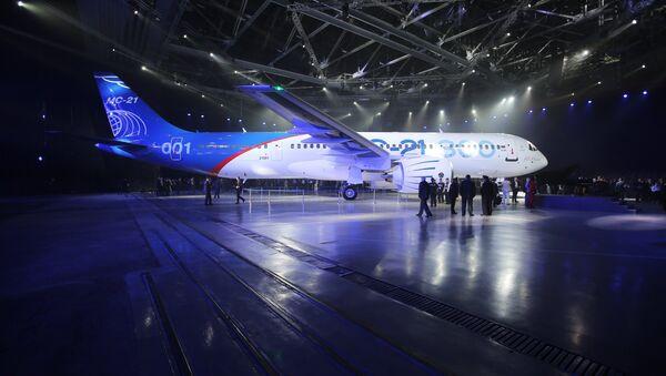 Nejnovější dopravní letadlo MS-21 - Sputnik Česká republika