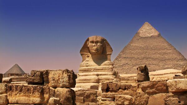 Egyptské pyramidy - Sputnik Česká republika