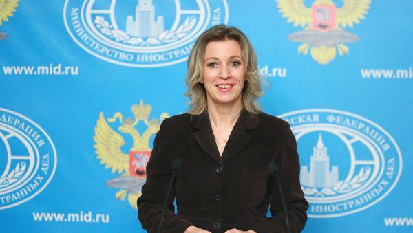 Maria Zacharovová - Sputnik Česká republika