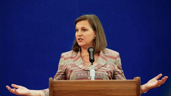 Pomocnice ministra zahraničních věcí USA Viktoria Nulandová - Sputnik Česká republika